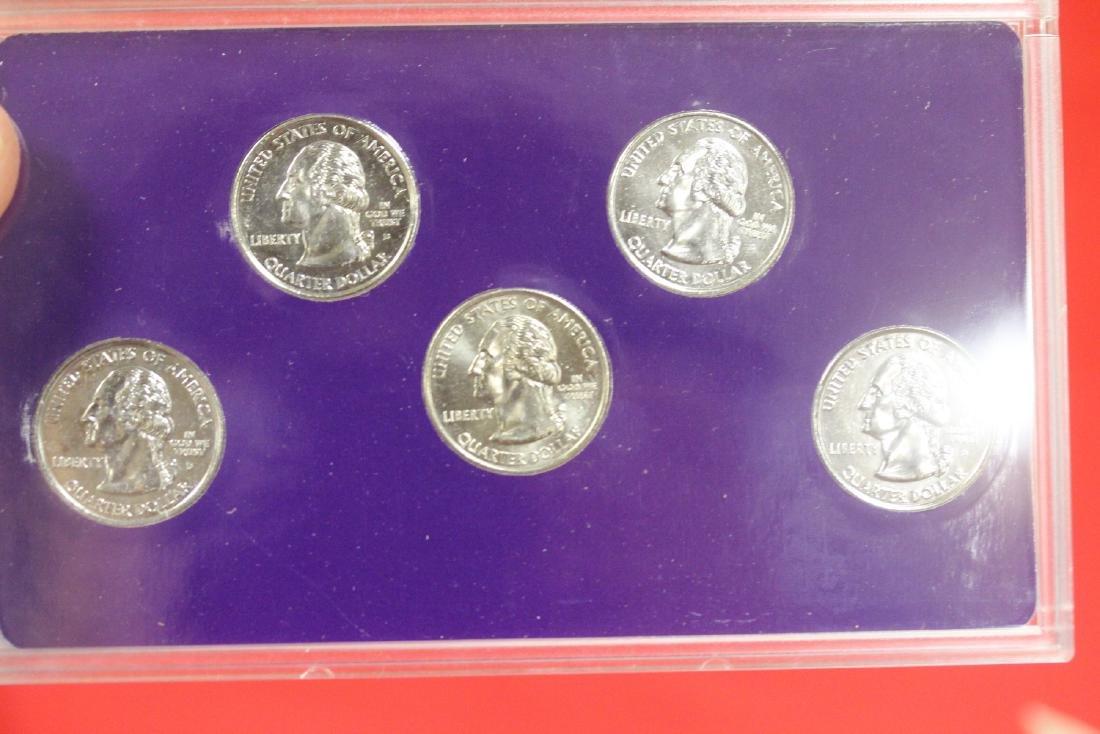 2002 Commemorative Quarters Platinum Set - 2