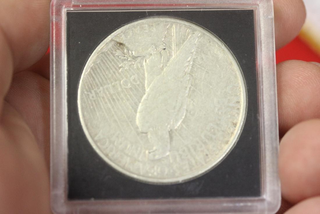 1926-S Peace Silver Dollar - 3