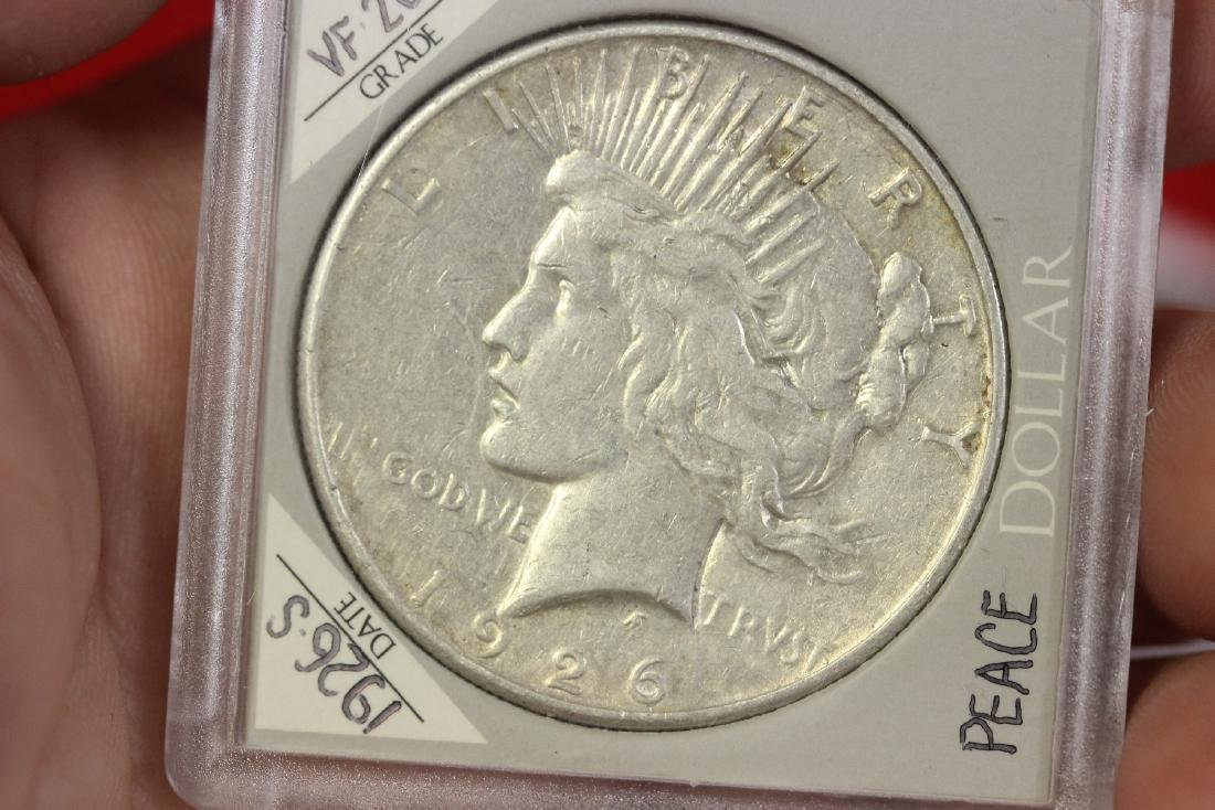 1926-S Peace Silver Dollar - 5