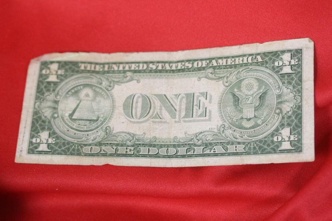 A Star Note - One Dollar Blue Seal