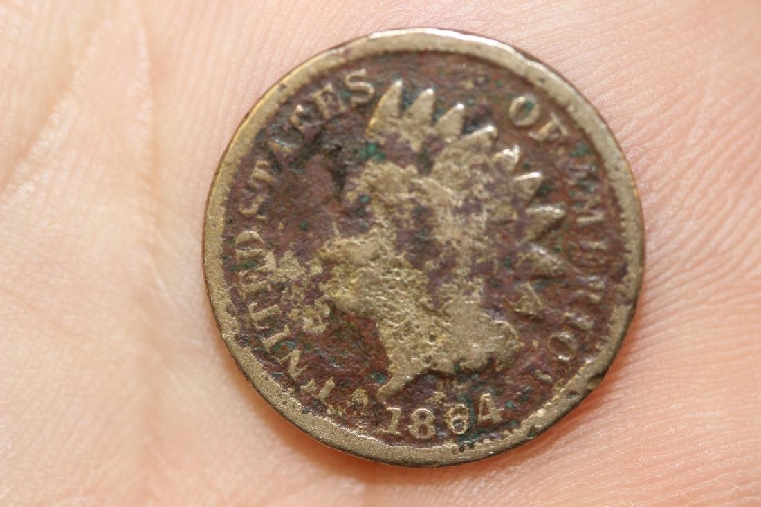 An 1864 Civil War Era Indian Head Penny