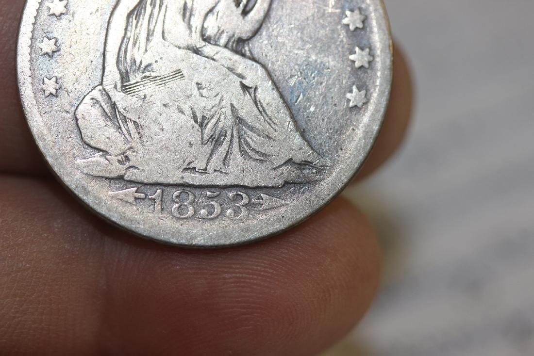 An 1853 Half Dollar - 4