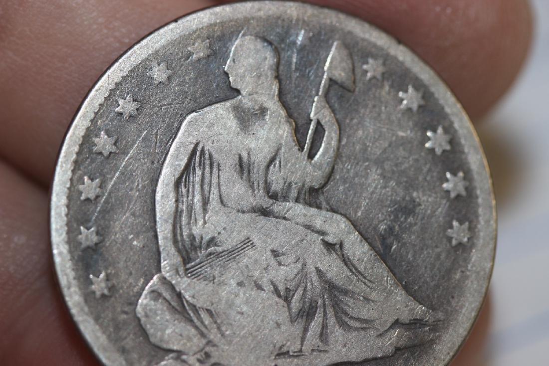 An 1853 Half Dollar - 5