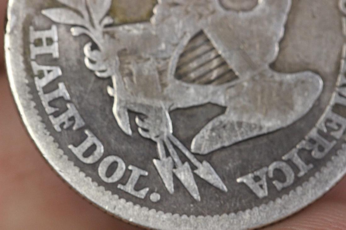An 1854 Half Dollar - 4