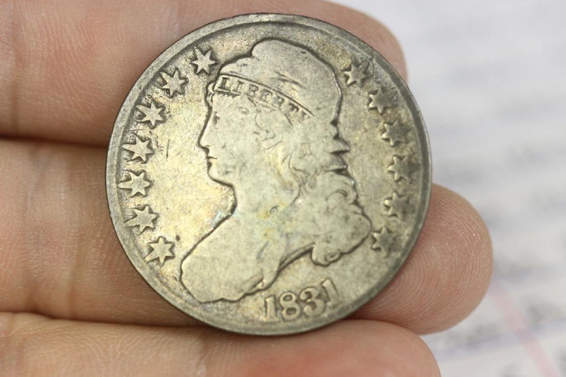 An 1831 Half Dollar