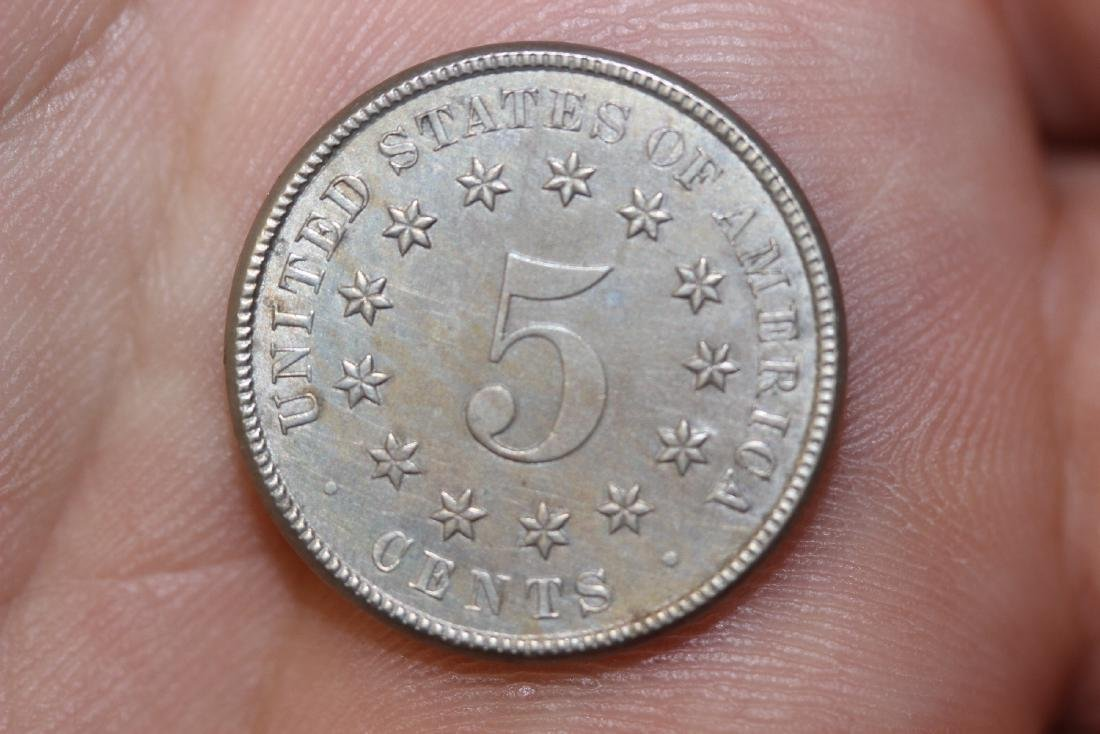 An 1883 Shield Nickel