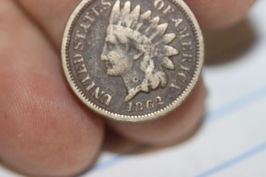 An 1862 Civil War Era Indian Head Penny