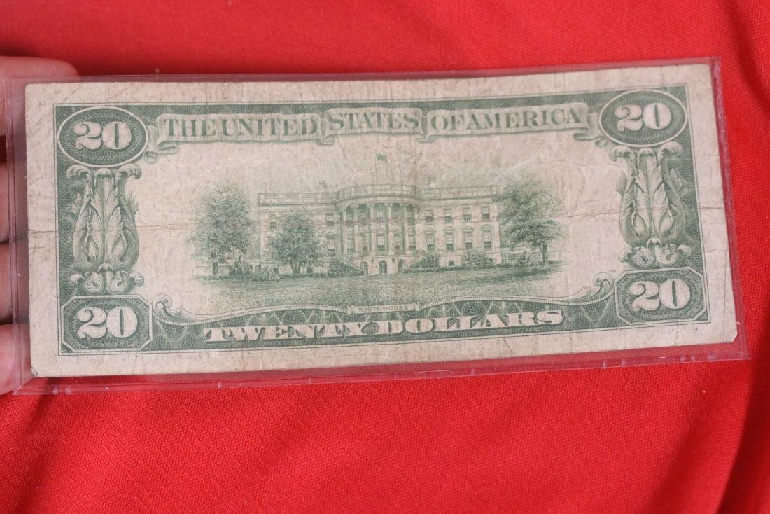 A 1934 $20.00 Note - 2