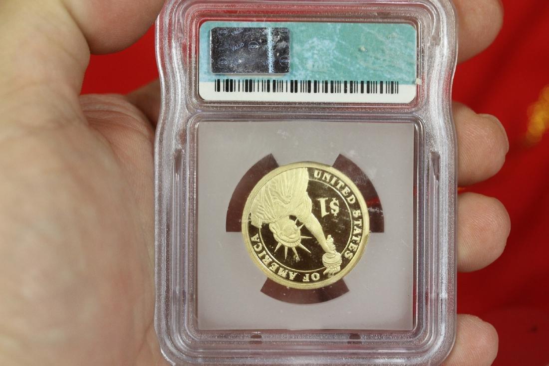 A Graded 2007-S George Washington  Dollar