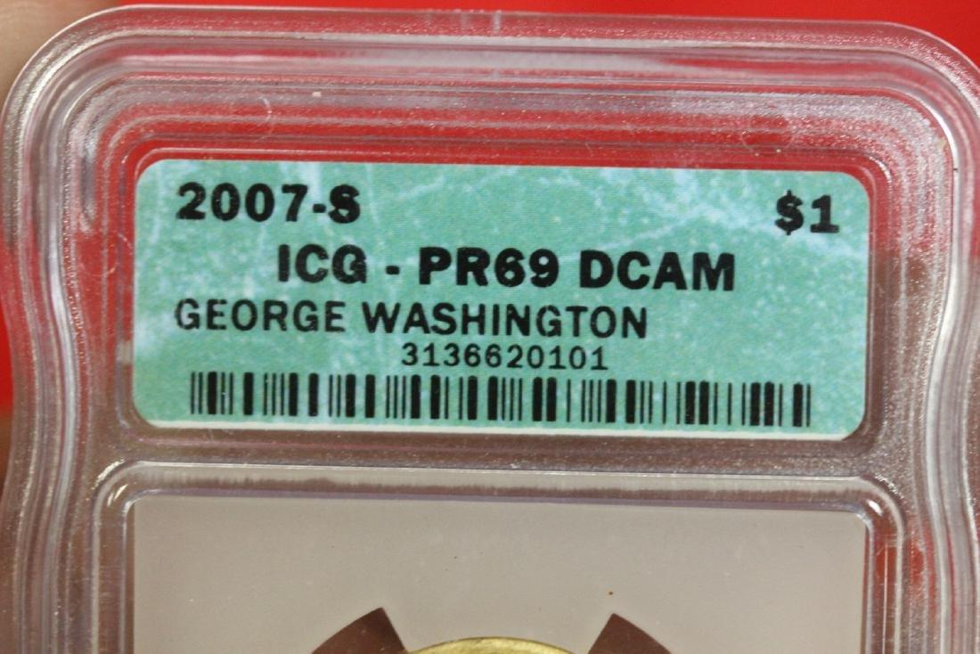 A Graded 2007-S George Washington  Dollar - 2