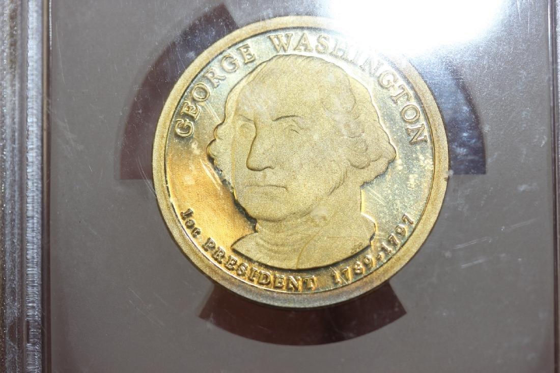 A Graded 2007-S George Washington  Dollar - 3