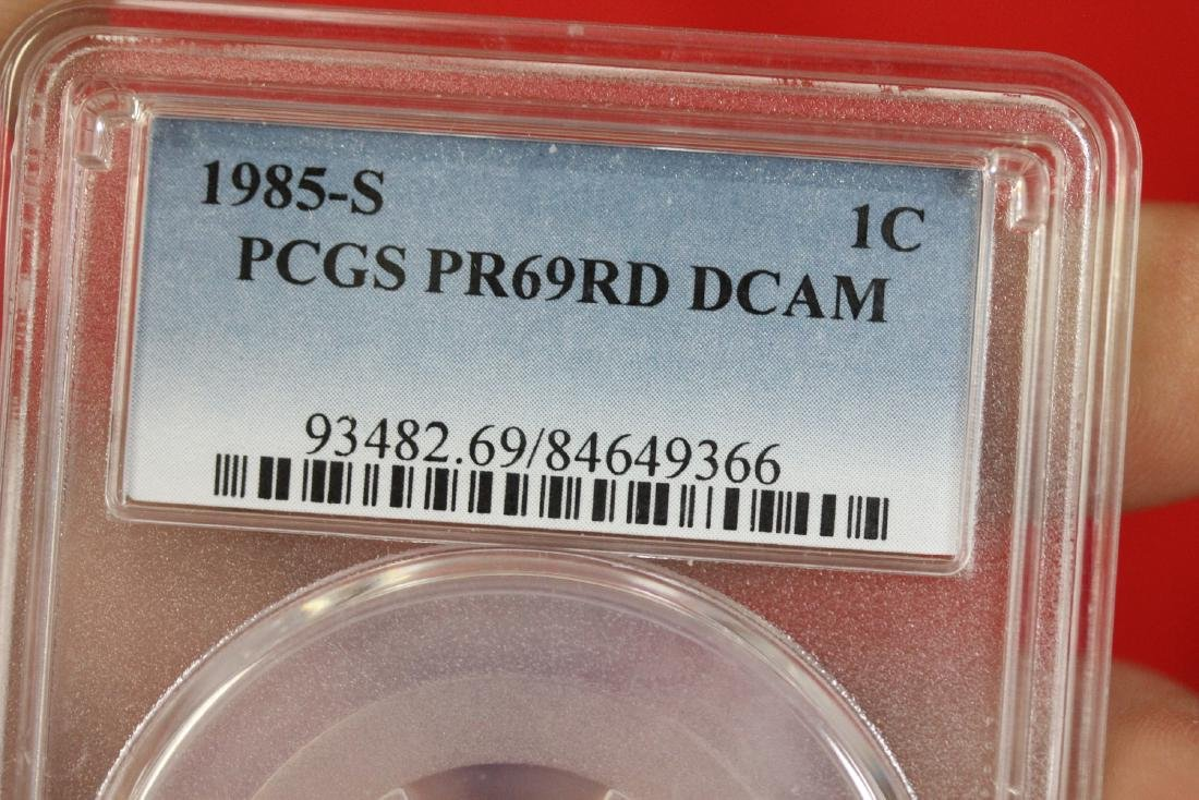 A Graded 1985-S One Cent - 2