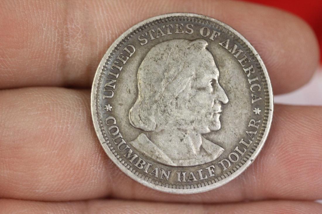 A Columbian Half Dollar - 1893