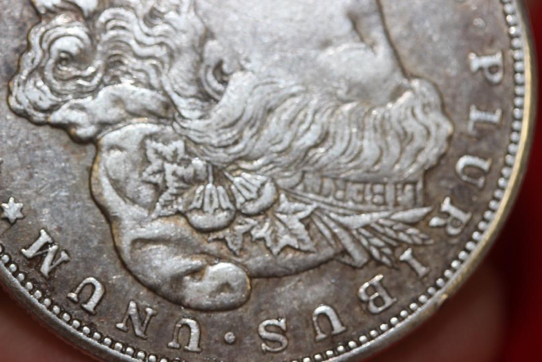 A 1921-S Morgan Silver Dollar - 5