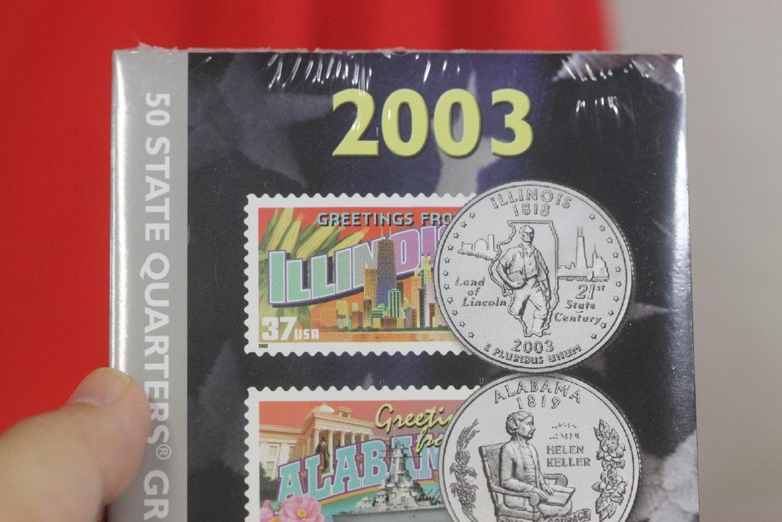 2003 50 State Quarters and Stamp Set