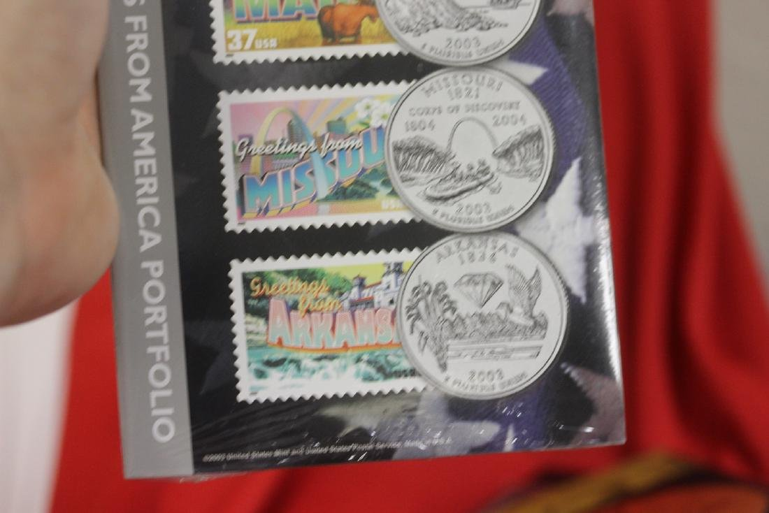 2003 50 State Quarters and Stamp Set - 3