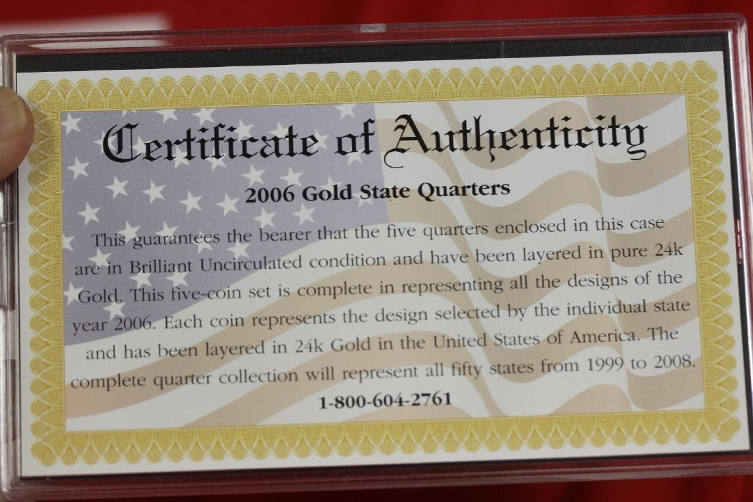 2006 Gold Edition State Quarter Collection - 2