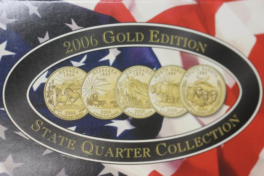 2006 Gold Edition State Quarter Collection - 3