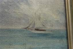 An Antique 19th Century Oil on Canvas