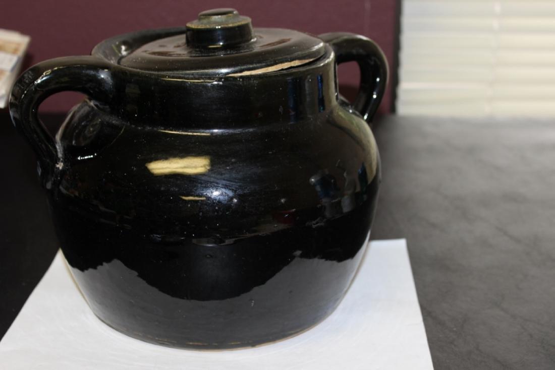 An Antique/Vintage Bean? Pot with Handle