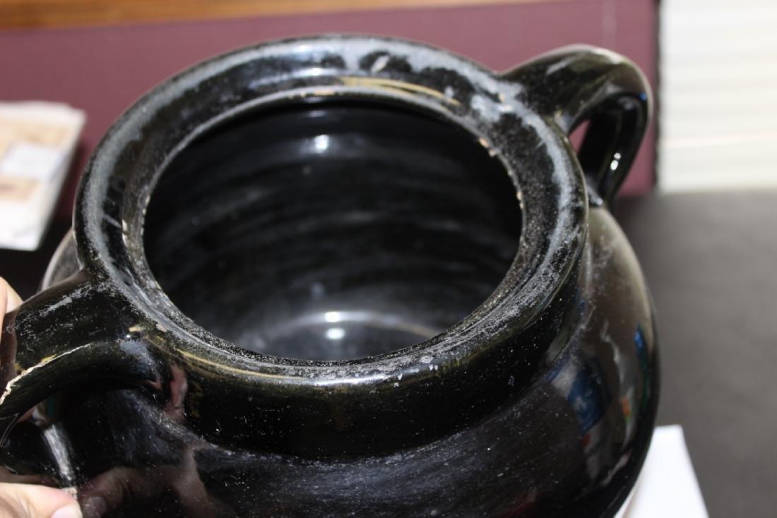 An Antique/Vintage Bean? Pot with Handle - 5
