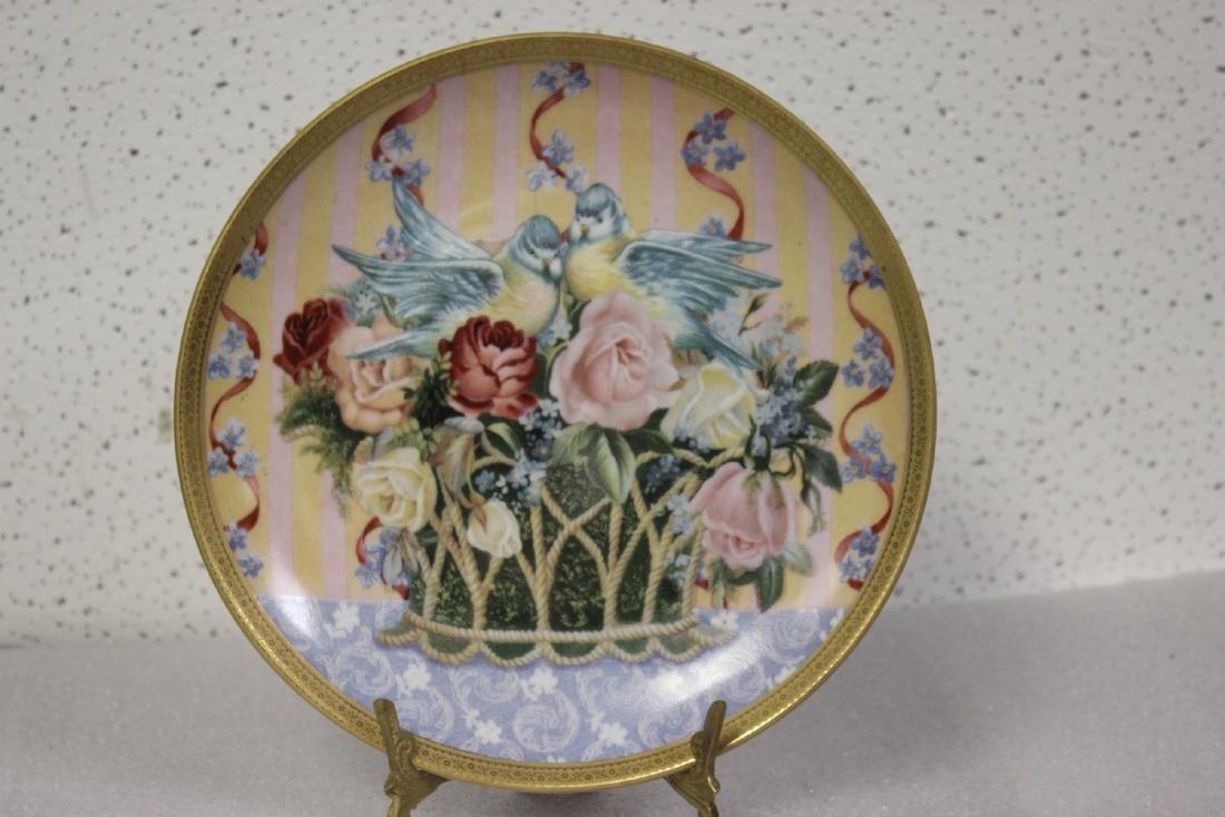 Collector's Plate by Gloria Vandebilt