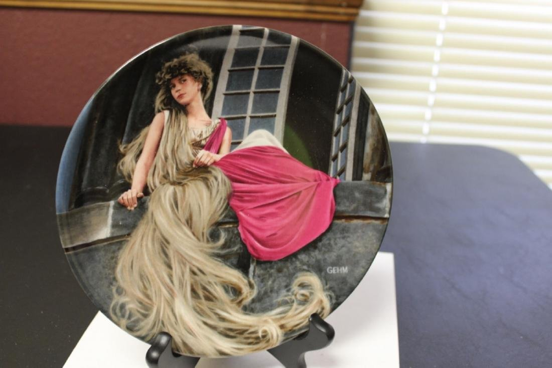 "A Collector's Plate ""Rapunzel"" by Gehm"