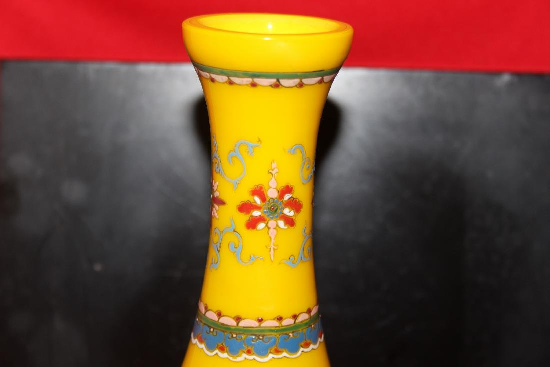 A Peking Glass Vase - 4