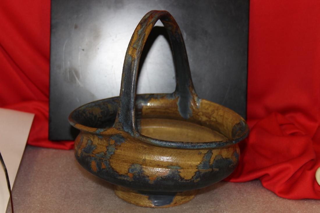 A Pottery Basket - 2