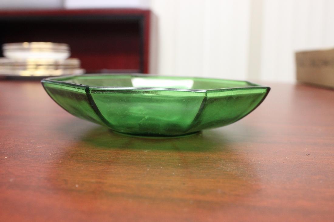 A Green Glass Bowl - 2