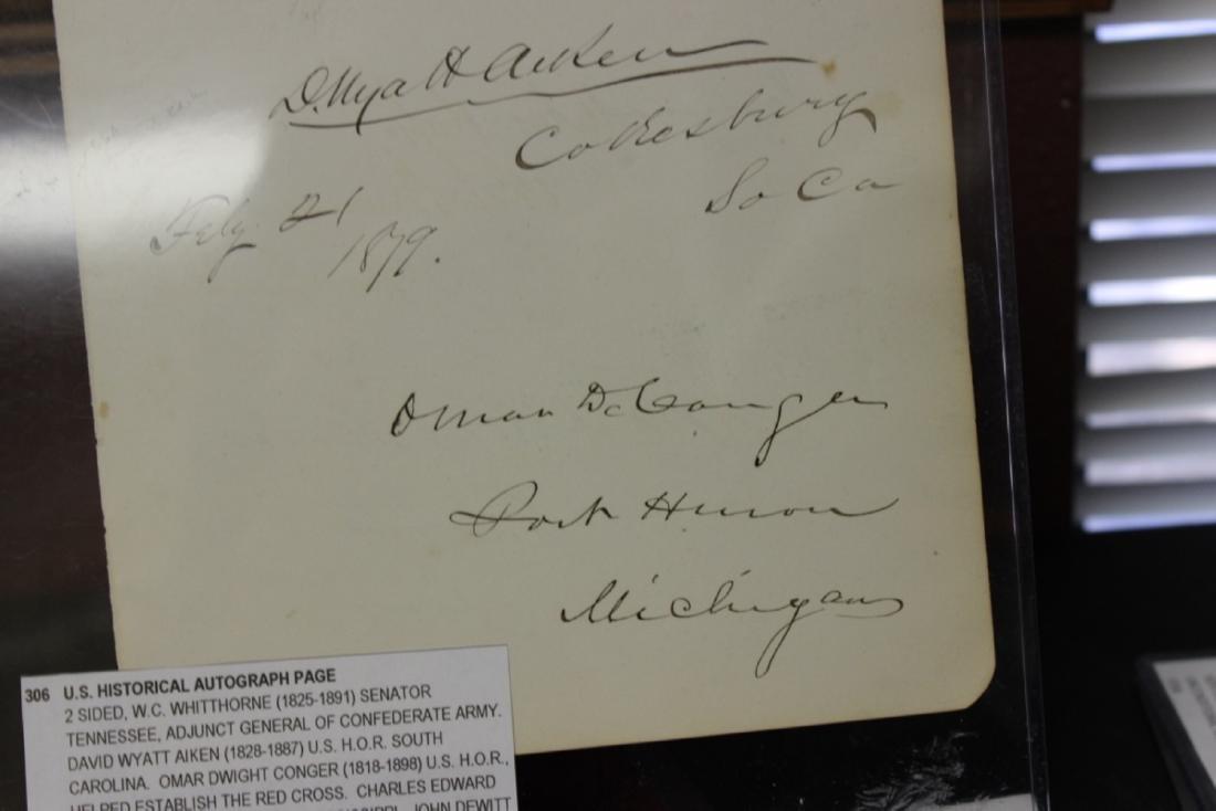 U.S. Historical Autograph Page - 2
