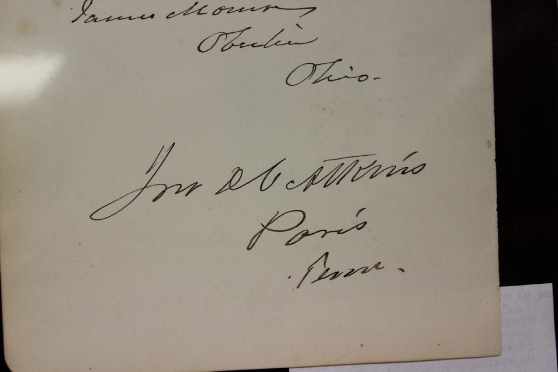 U.S. Historical Autograph Page - 7