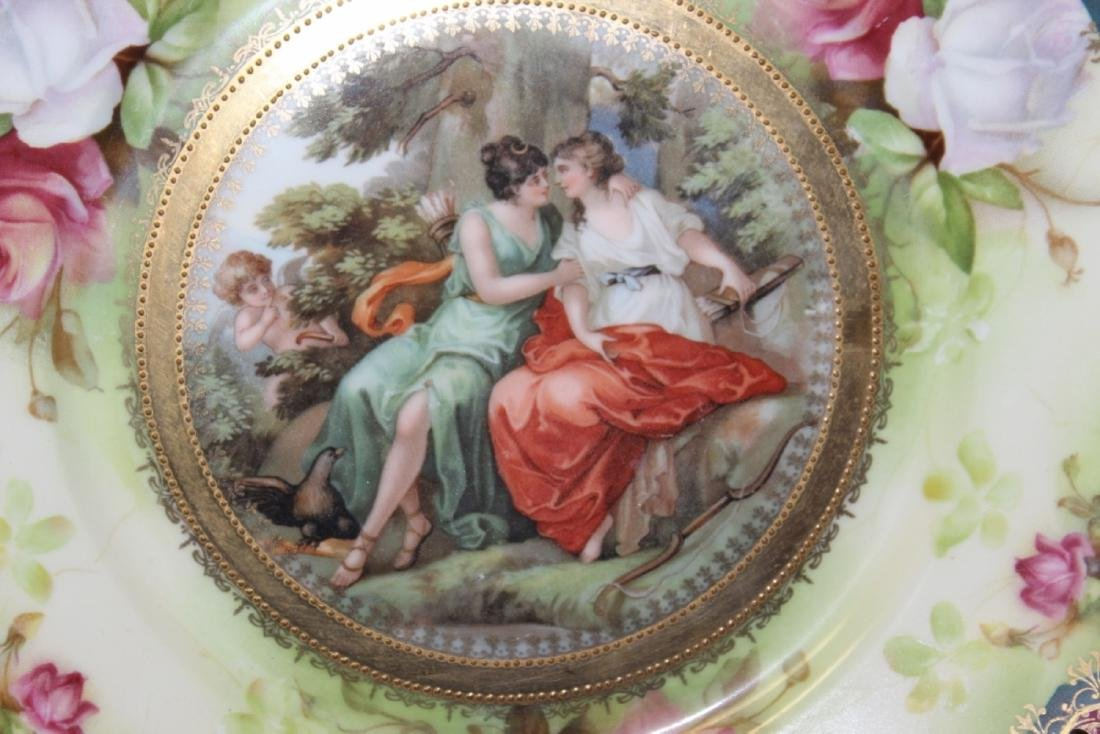 A Provsaxees Germany Cabuinet Classical Scene Plate