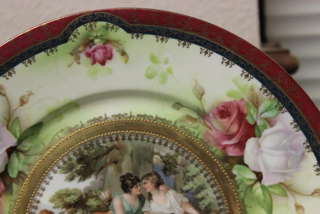 A Provsaxees Germany Cabuinet Classical Scene Plate - 2