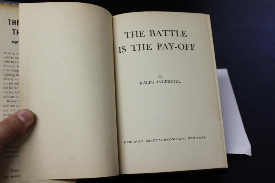 Hardcover Book - The Battle Is The Payoff - 2