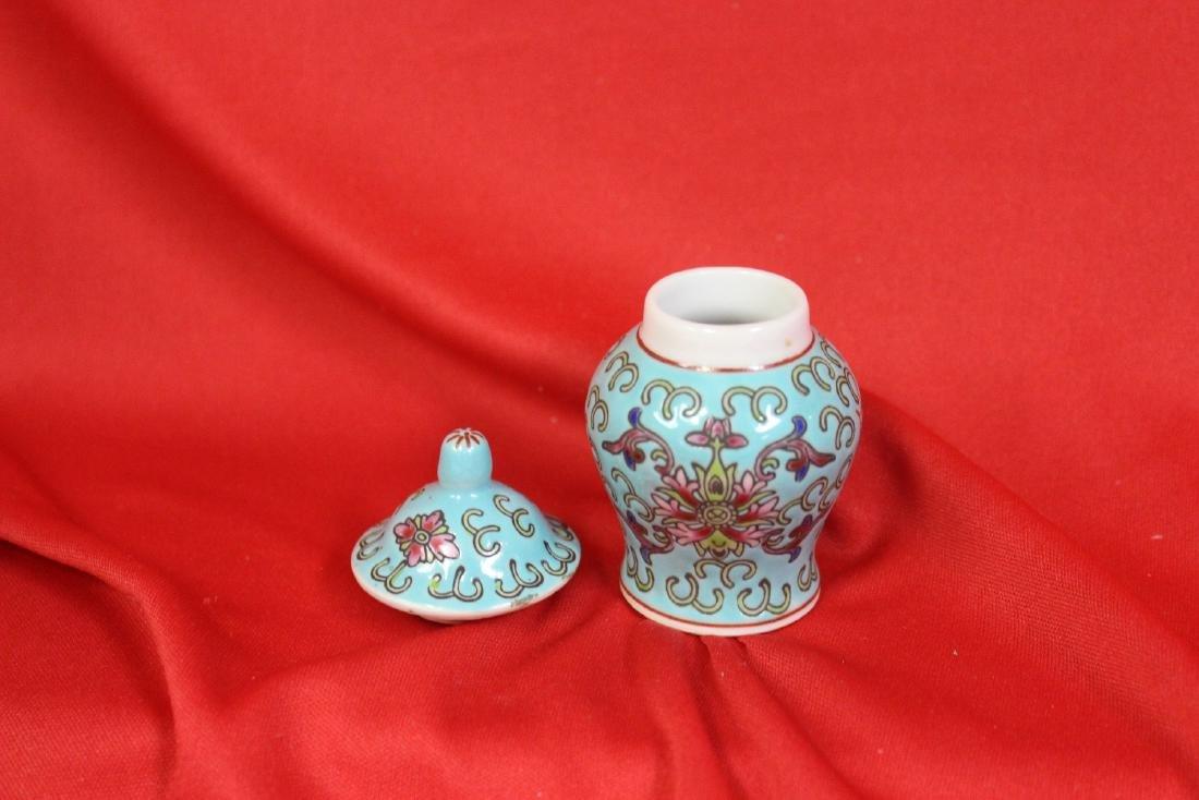 A Miniature Chinese Jar - 3