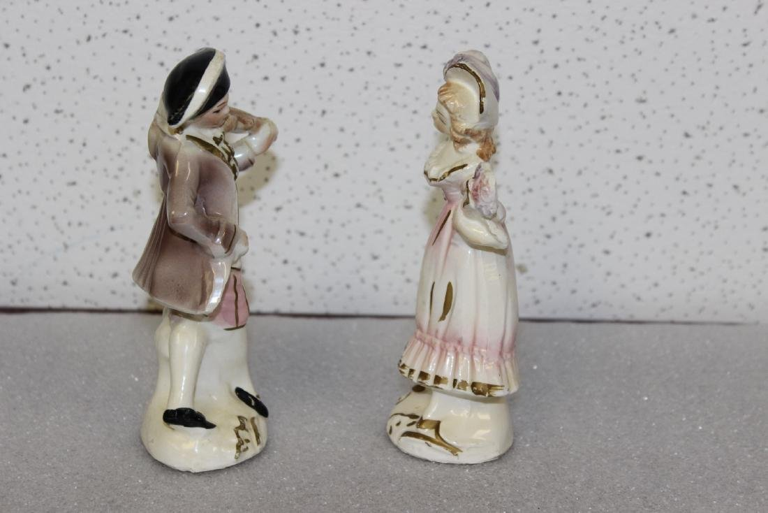 A Pair of Ceramic Figurines