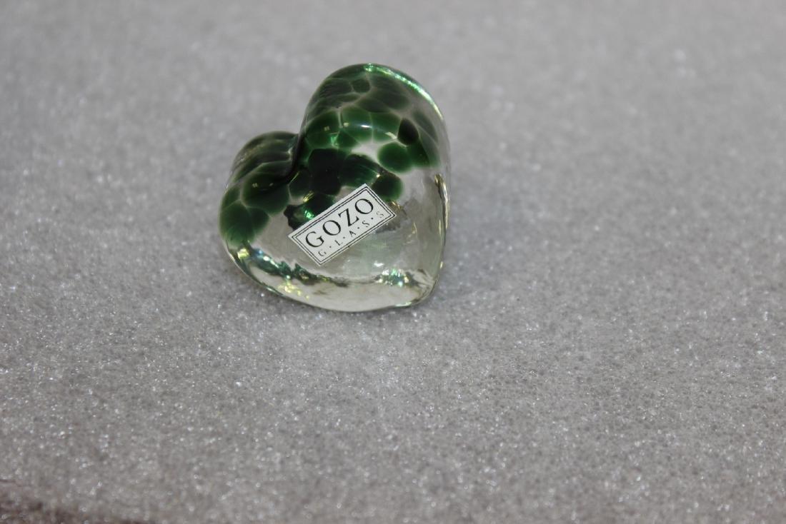 A Gozo Glass Heart - 2