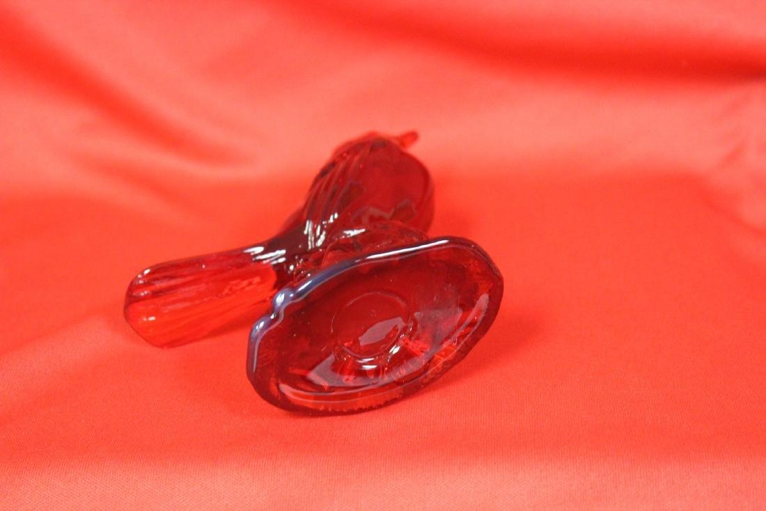 A Red Glass Bird - 3