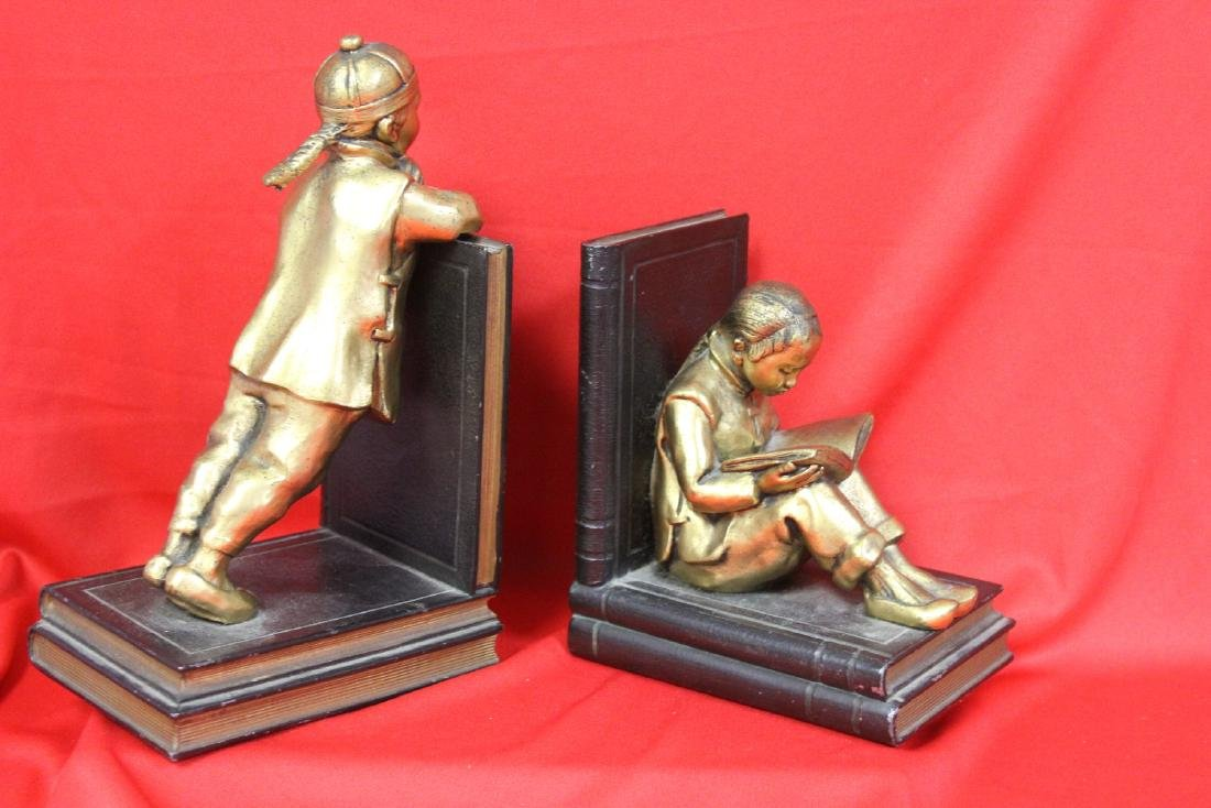 Chinese Motief Bookends