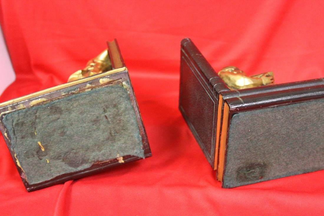 Chinese Motief Bookends - 2