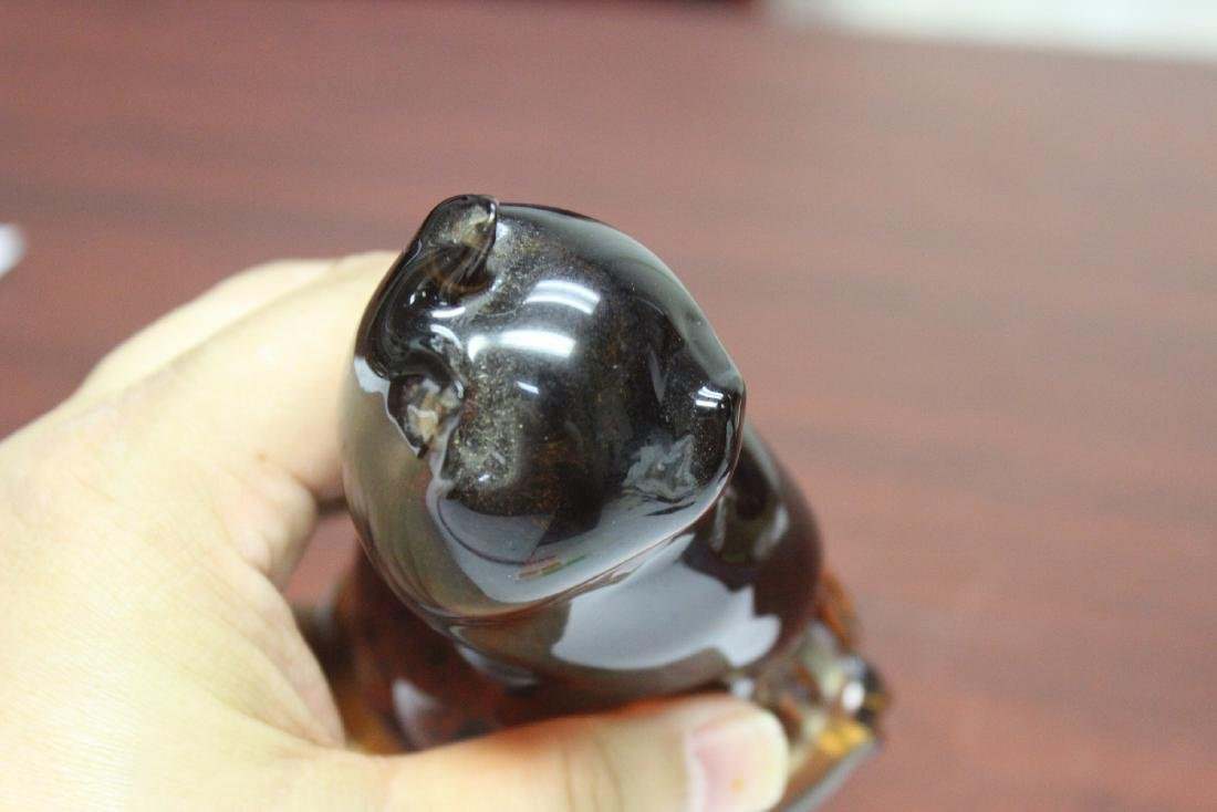 A Wedgwood Glass Cat - 6