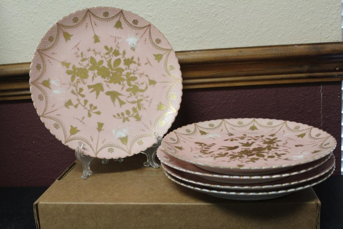 Set of 4 Beehive Plates