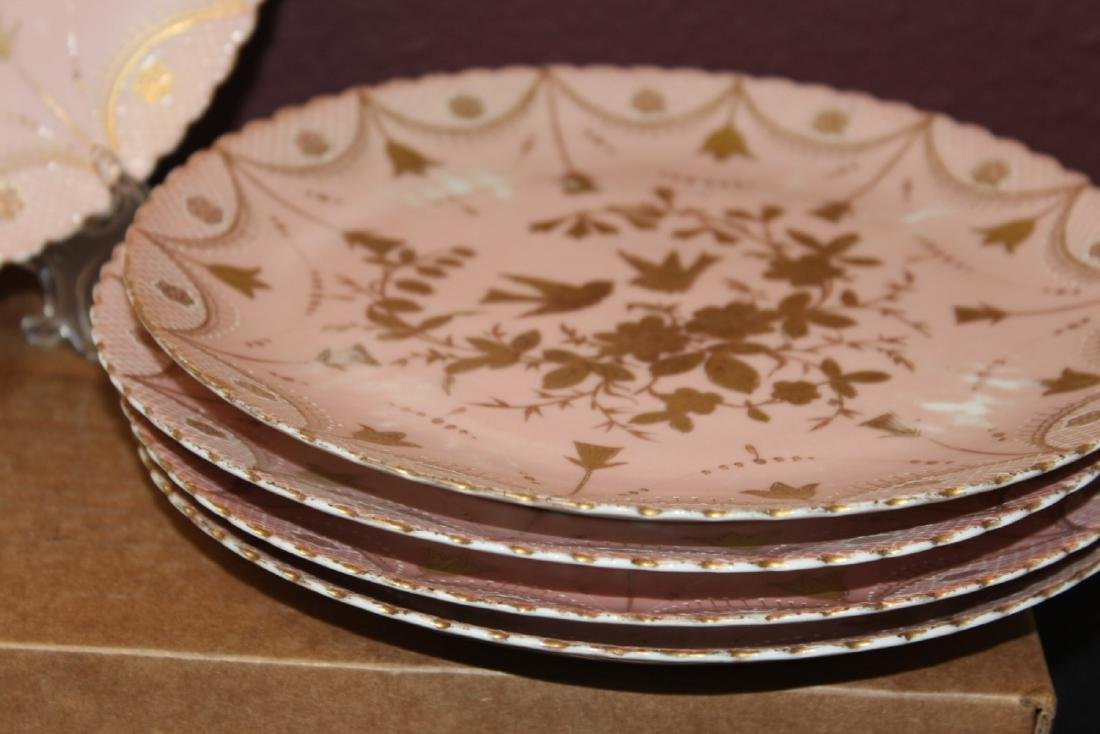 Set of 4 Beehive Plates - 3