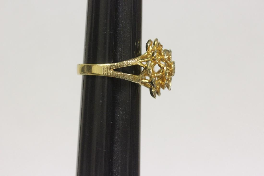 A Gold Plated or Sterling Ring - 2