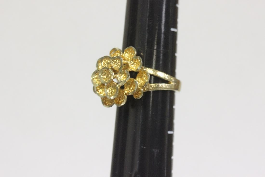 A Gold Plated or Sterling Ring - 3