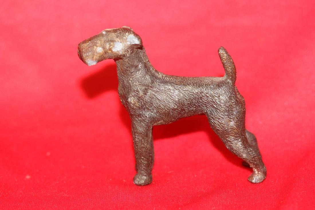 A Cast Iron Dog