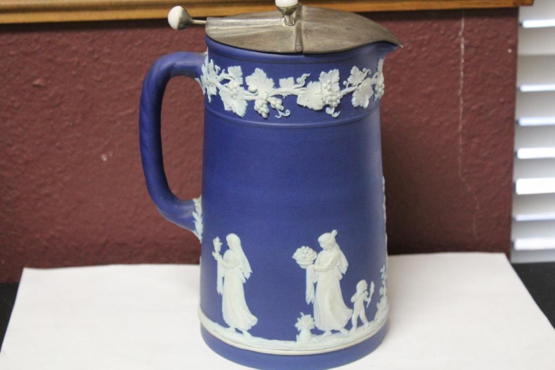 An Antique Wedgwood Jasperware Pitcher - 5