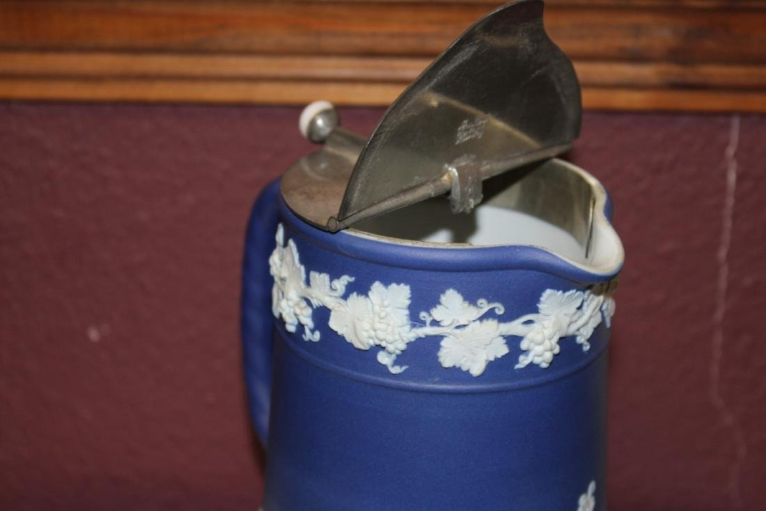 An Antique Wedgwood Jasperware Pitcher - 6