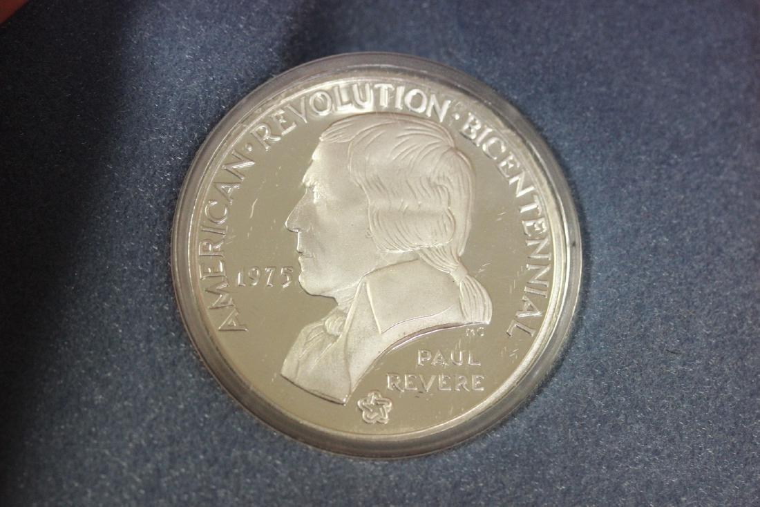 A Paul Revere 1975 Bicentennial Medal